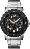 Caterpillar CAT PV1 Multifunction Men's Analog Watch Dial Stainless Link Band PV14911111