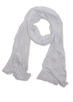 Yigal Azrouel Basic VJ Scarf in Optic White