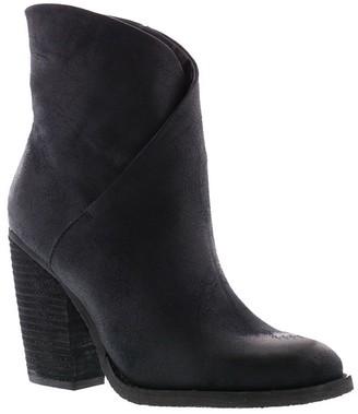 Sbicca Asymmetrical Foldover Ankle Booties - Bennington