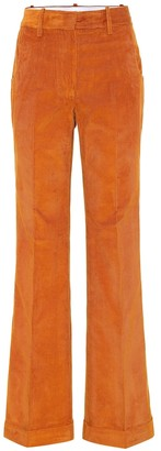 Victoria Beckham High-rise straight corduroy pants