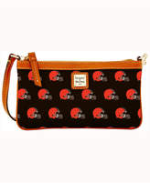Dooney & Bourke Cleveland Browns Large Wristlet