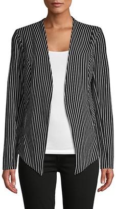 BCBGeneration Striped Tuxedo Blazer