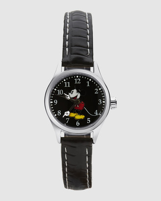Disney Petite Mickey Croco Black Watch