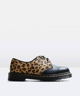 Dr. Martens 1461 Lace Up Shoe Leopard Black