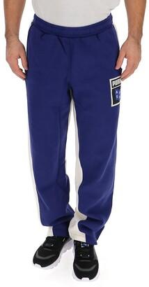 Puma Contrasting Panelled Sweatpants