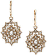 lonna & lilly Gold-Tone Decorative Crystal Drop Earrings