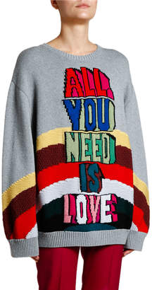 Stella McCartney All You Need Is Love Wool Sweater