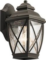 "575 Denim Sunnydale 1-Light Outdoor Wall Lantern Darby Home Co Size: 10.25"" H x W x 6.75"" D"