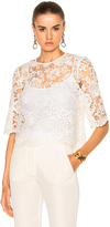 Needle & Thread Floral Lace Top