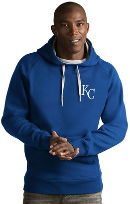 Antigua Men's Kansas City Royals Victory Pullover Hoodie
