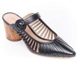 Bernardo Slip-On Leather Mules - Fatima