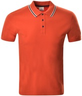 Pyrenex Lionel Polo T Shirt Orange