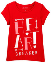 Joe Fresh Short Sleeve Graphic Tee (Big Girls)