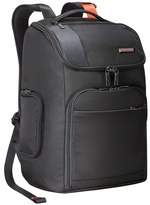 Briggs & Riley Men's 'Verb - Advance' Water & Wear Resistant Ballistic Nylon Backpack - Black