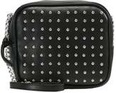 New Look SQUARE STUDDED XBODY Across body bag black