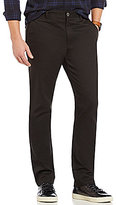 RVCA Week-End Stretch Twill Flat-Front Slim-Straight Pants