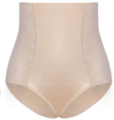 City Chic Smooth & Chic Control Brief - Latte