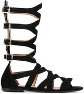 Twin-Set strapped sandals - women - Leather/Suede - 39