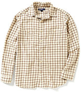 Daniel Cremieux Highland Peaks Collection Graph Woven Shirt