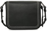 Mackage Dion Mini Leather Crossbody Back In Black/Shiny Nickel