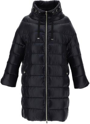 Herno Nylon Ultralight Cocoon Coat