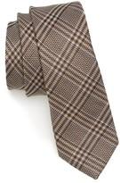 The Tie Bar Men's Columbus Plaid Linen & Silk Tie