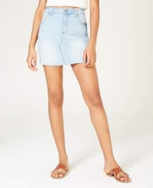 Celebrity Pink Juniors' Denim Mini Skirt