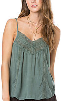 O'Neill Kimberly Crochet Lace-Inset Tank Top