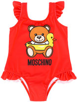 Moschino Kids - Teddy Bear swimsuit - kids - Polyester/Spandex/Elastane - 6 mth