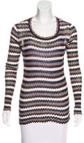 Etoile Isabel Marant Patterned Knit Top