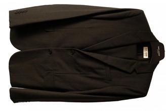 Saint Laurent Black Wool Suits