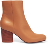 Maison Margiela Leather Ankle Boots - Tan