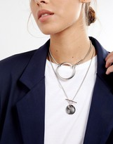 Asos Chain Toggle Necklace