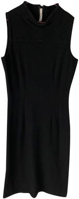 Prada Black Wool Dresses