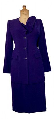Hermes Purple Wool Jackets