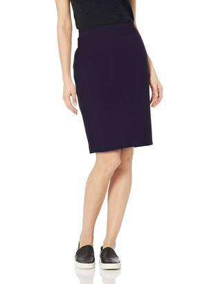 Daily Ritual Amazon Brand Women's Terry Cotton and Modal Pencil Skirt