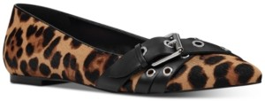 Nine West Averie Buckle Flats Women's Shoes
