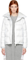 Sacai Off-White Down Nylon Jacket