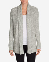 Eddie Bauer Women's Cable Sleep Cardigan