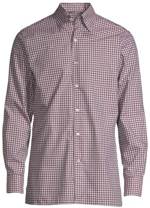 Canali Checked Sport Shirt