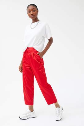 Urban Renewal Vintage Remnants Satin Straight Leg Trouser Pant
