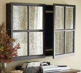 Pottery Barn Mirror Cabinet TV Covers
