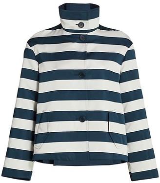 Akris Punto Striped Jacket