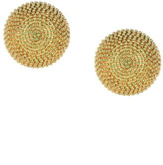 Marni Crystal Dome Clip-On Earrings