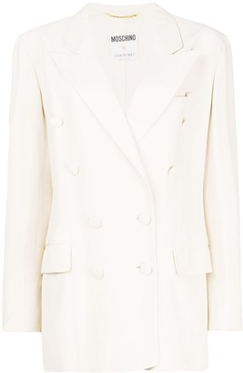 Moschino Pre-Owned Double-Breasted Blazer