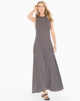 Soma Intimates High Neck Maxi Stripe Dress