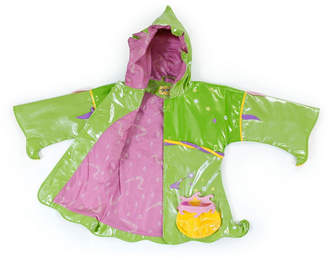 Kidorable Little and Big Girl with Comfy Polyester Lining Fairy Raincoat