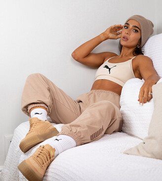 Puma x Stef Fit oversized jogger in chanterelle - Exclusive to ASOS