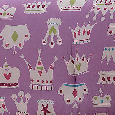 Dollie & Me Pretty Princess Reversible Comforter Set with Doll