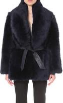 Drome Oversized dyed shearling coat